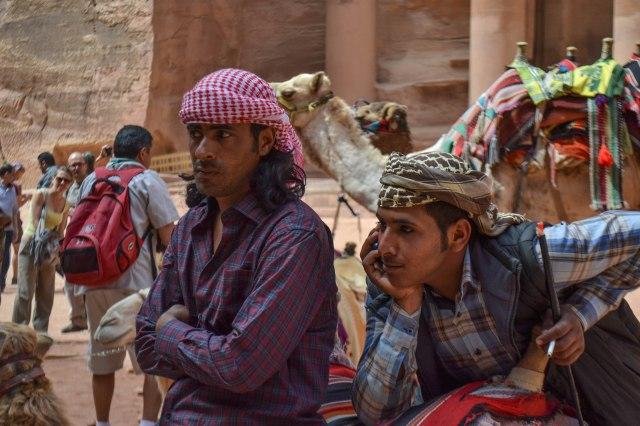 Petra camel guides